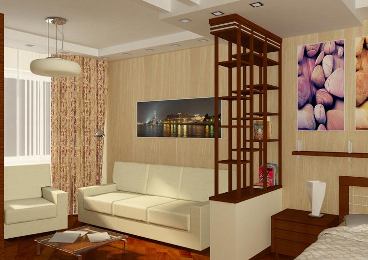 Дизайн квартиры однокомнатной своими руками фото