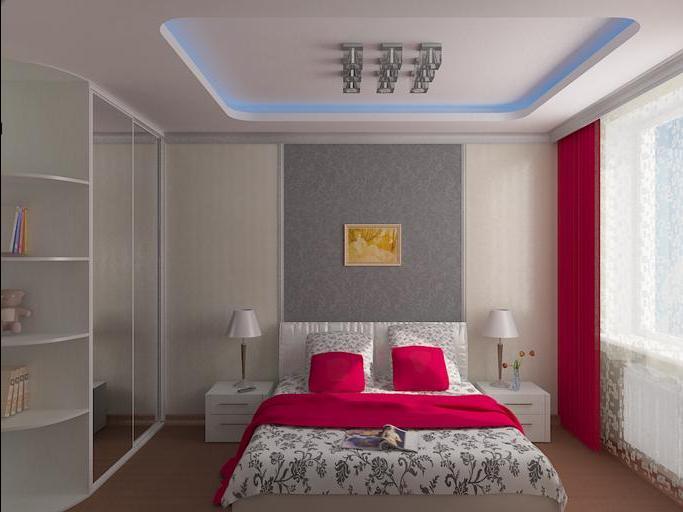 Дизайн спальни хрущевки с диваном