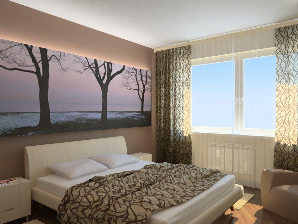 Дизайн спальни в хрущевке создаем