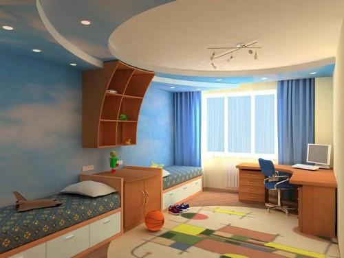 Дизайн детской для двоих детей 150 фото интерьера