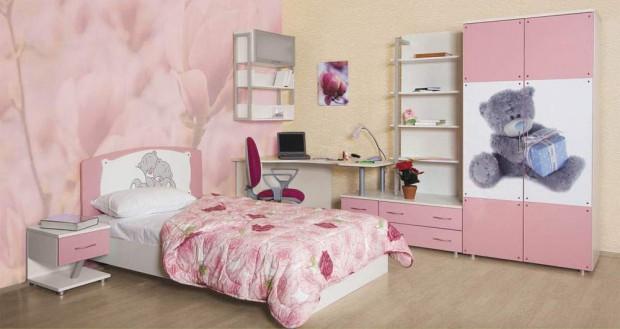 Дизайн яркой комнаты для подростка