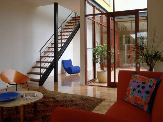 Дизайн зала в частном доме: выбор