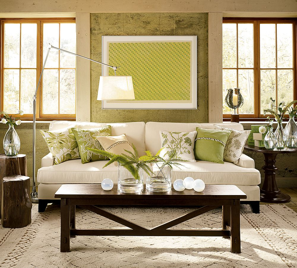 28 cream and green living room ideas lakeside living room l