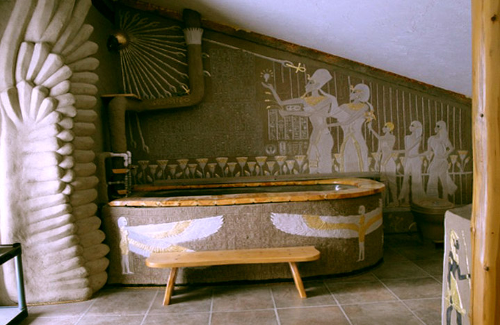 Египетский интерьер