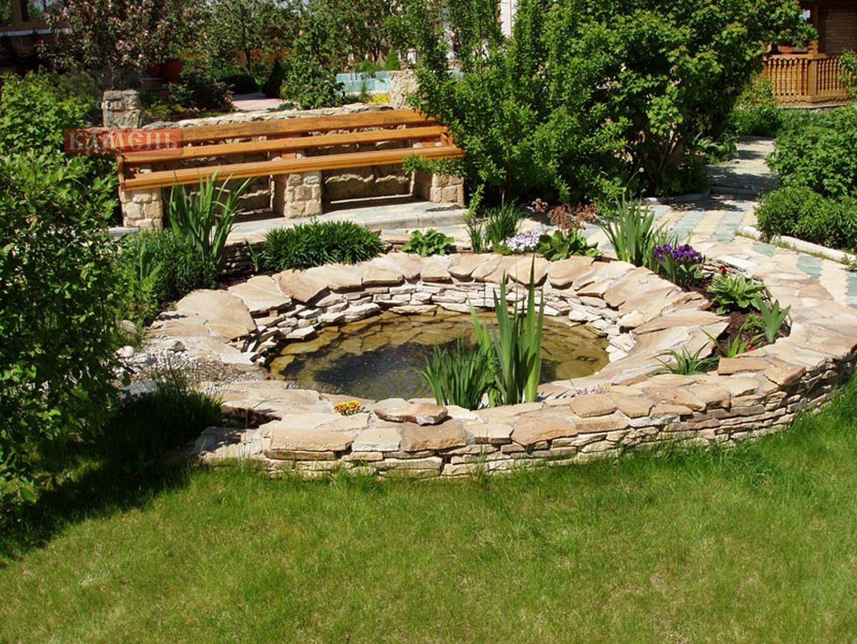 Ландшафтный дизайн с камнями дачного участка фото