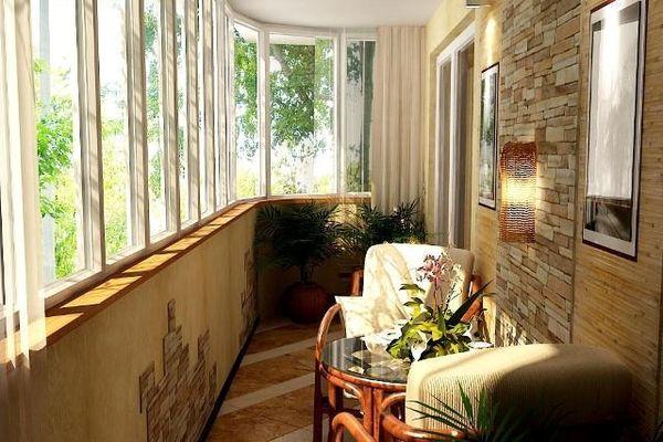 Дизайн лоджий: отделываем балкон, полезные советы и фото.