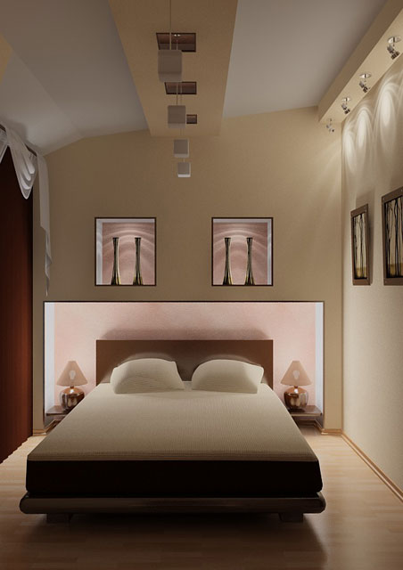 Дизайн окон для спальни фото