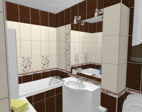 Дизайн ванной комнаты фото 8 кв м