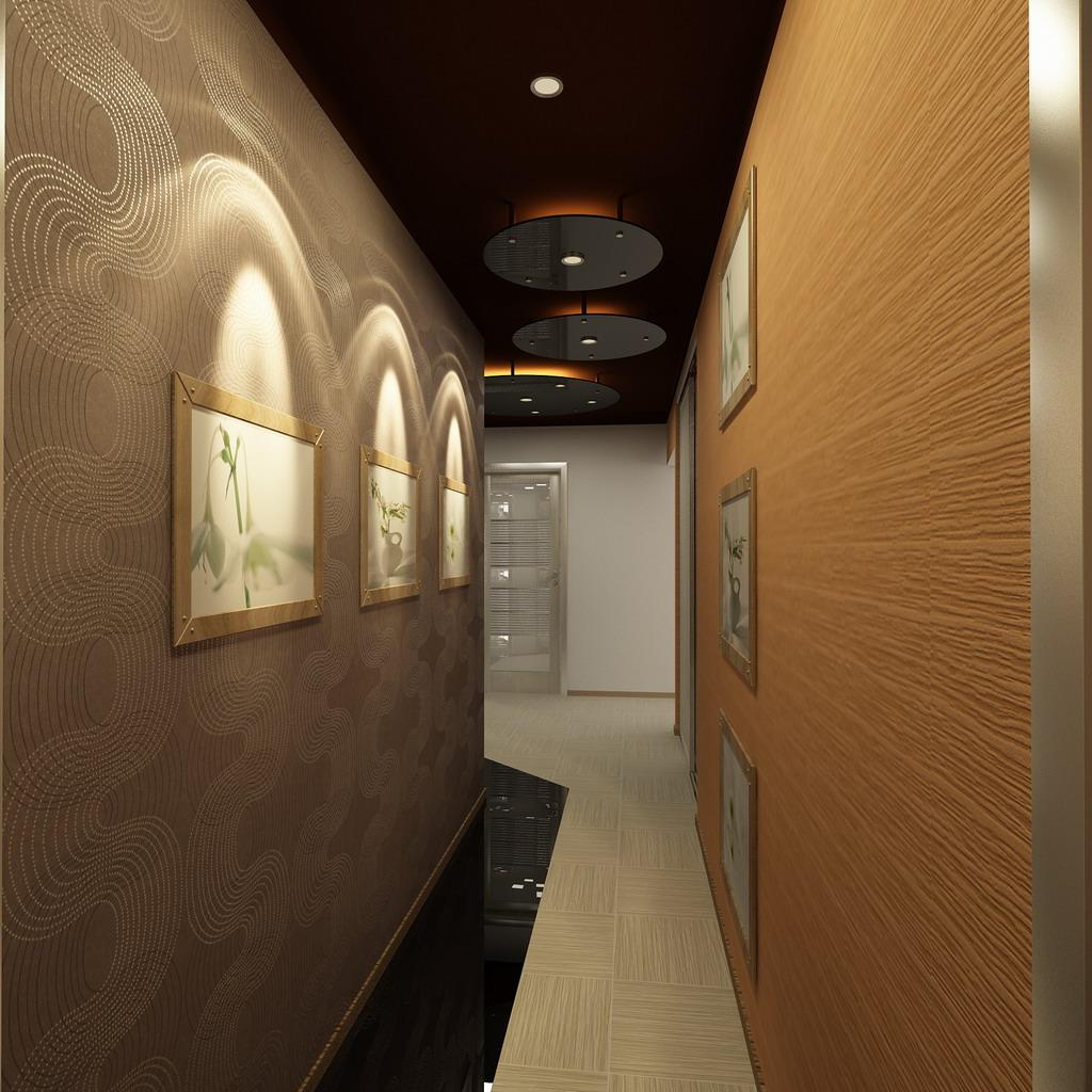 100 лучших идей дизайна стен в прихожей и коридоре на фото 26