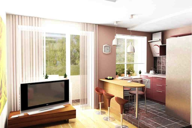 Как создать красивый и функциональный дизайн однокомнатной квартиры хрущевки