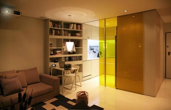 Идеи дизайна обоев для зала