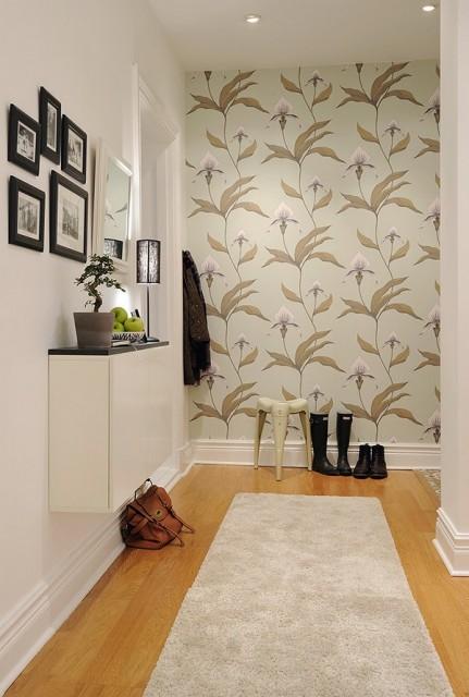 Дизайн длиннного коридора в квартире
