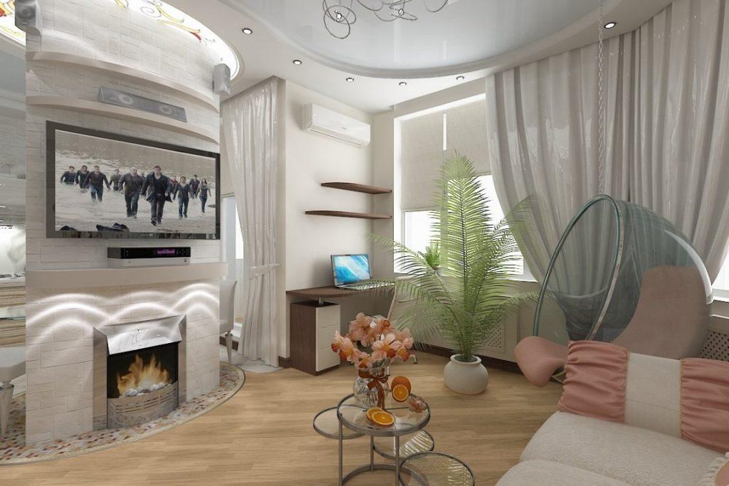 Интерьеры для гостинных и зала