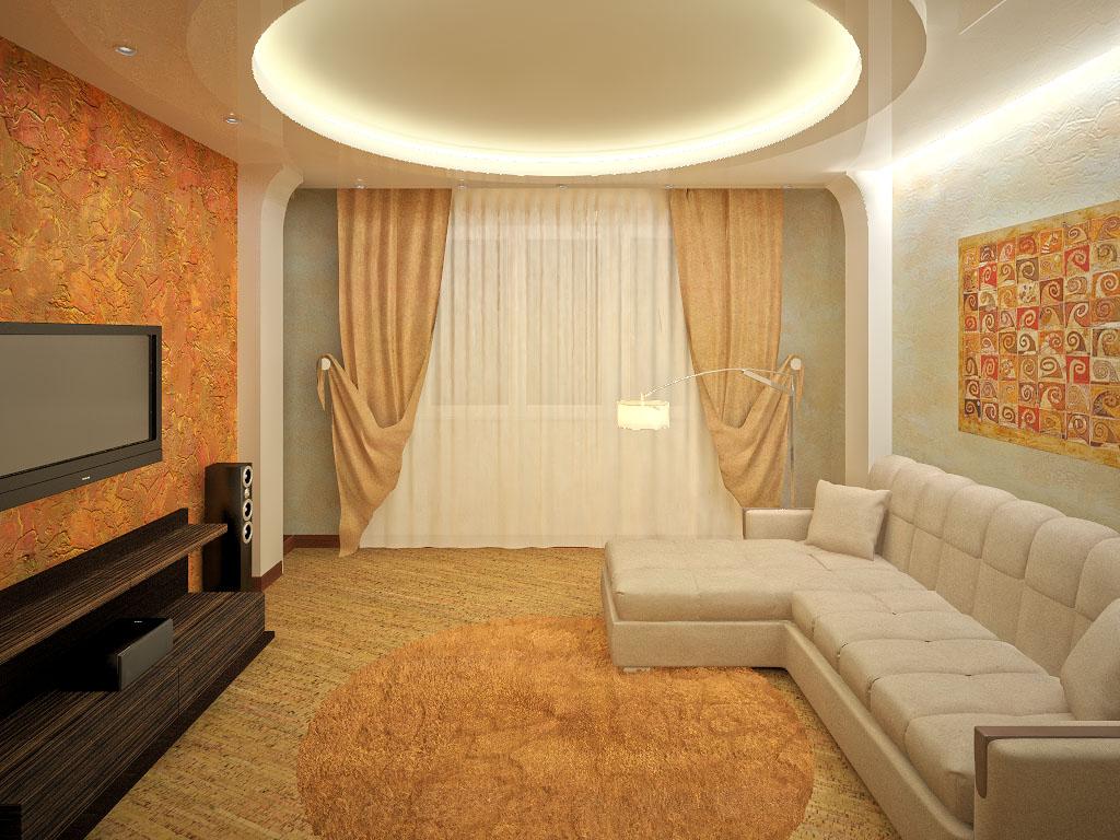 Фото современного дизайна зала