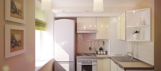 Интерьер кухни в хрущевке: советы и 65 фото