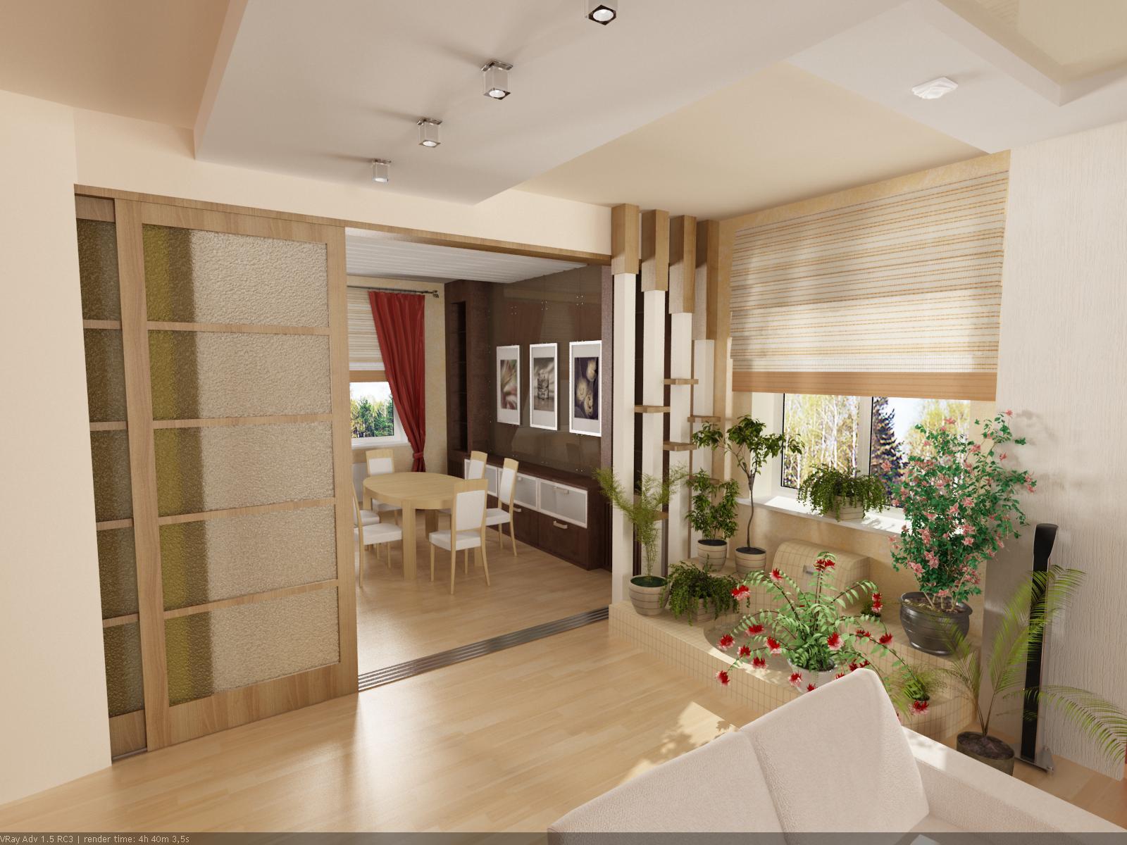 Создаем модный дизайн кухни совмещенной с гостиной - 35 фото.