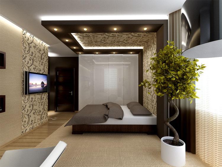 Декор спальни-гостиной своими руками