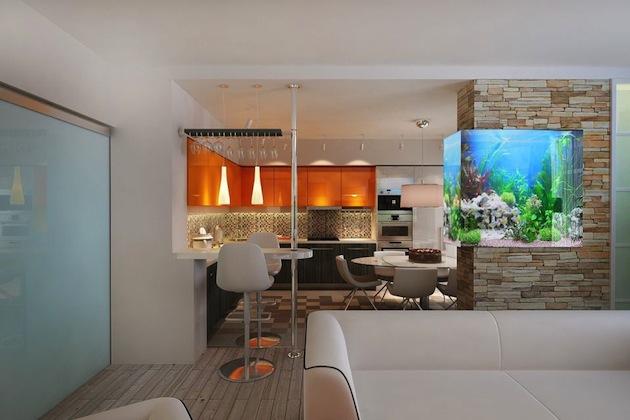 Варианты оформления и дизайна гостиного пространства