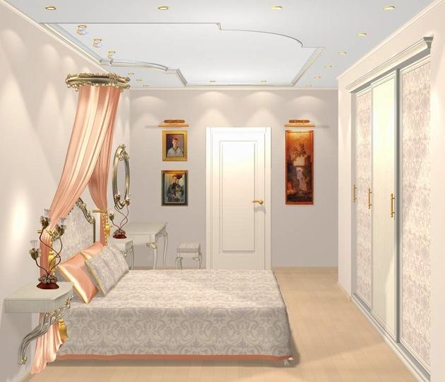 Дизайн спальни в малогабаритной квартире