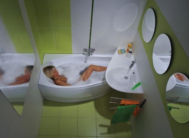 Размеры ванной комнаты в хрущевке можно увеличить