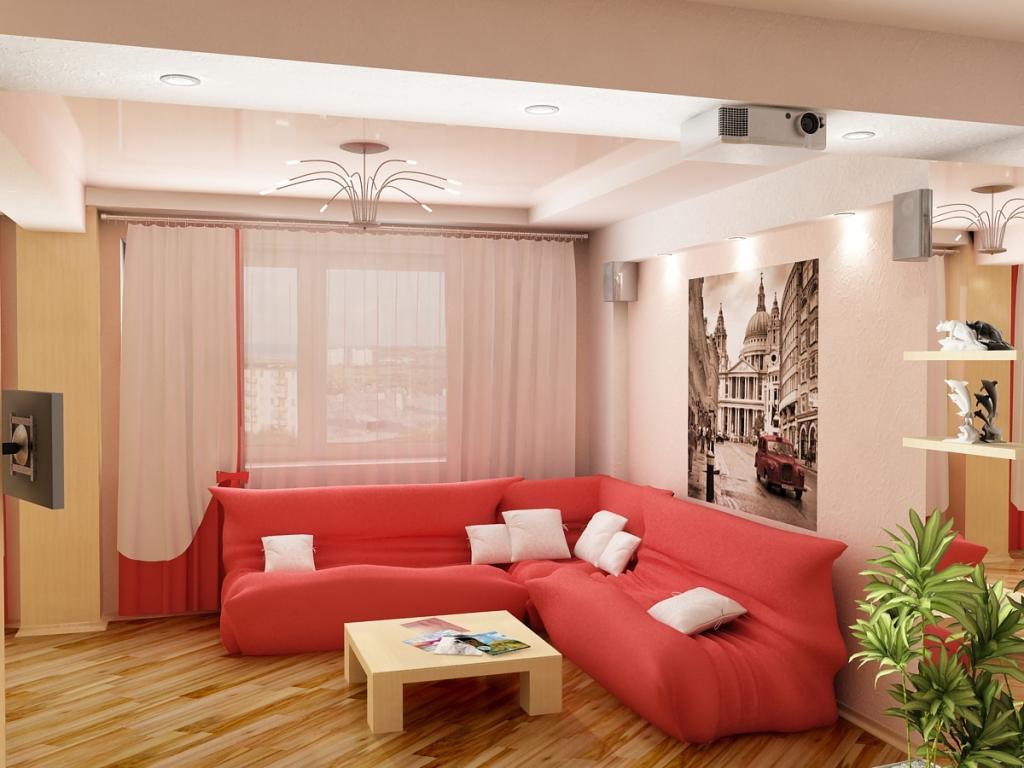 Угловой диван для зала