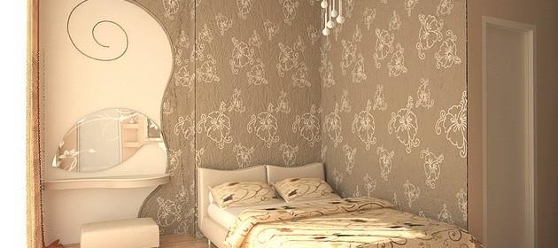 Дизайн обоев для спальни — 104 фото-примера