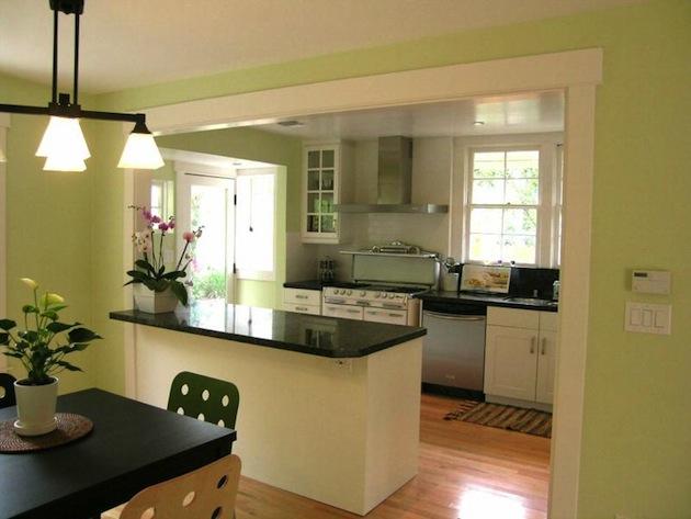 проекты кухни с барной стойкой фото