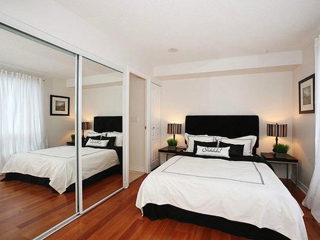 Идеи дизайна интерьера маленькой спальни