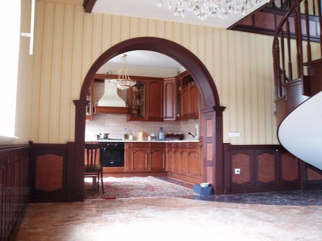 Финишная отделка арки из гипсокартона