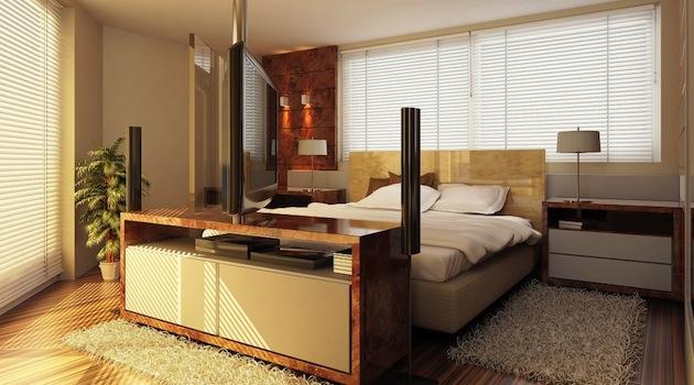 Дизайн зала спальни в квартире