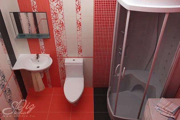 Дизайн ванной комнаты фото хрущёвка