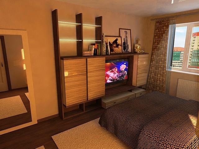 Дизайн двухкомнатной квартиры (фото)