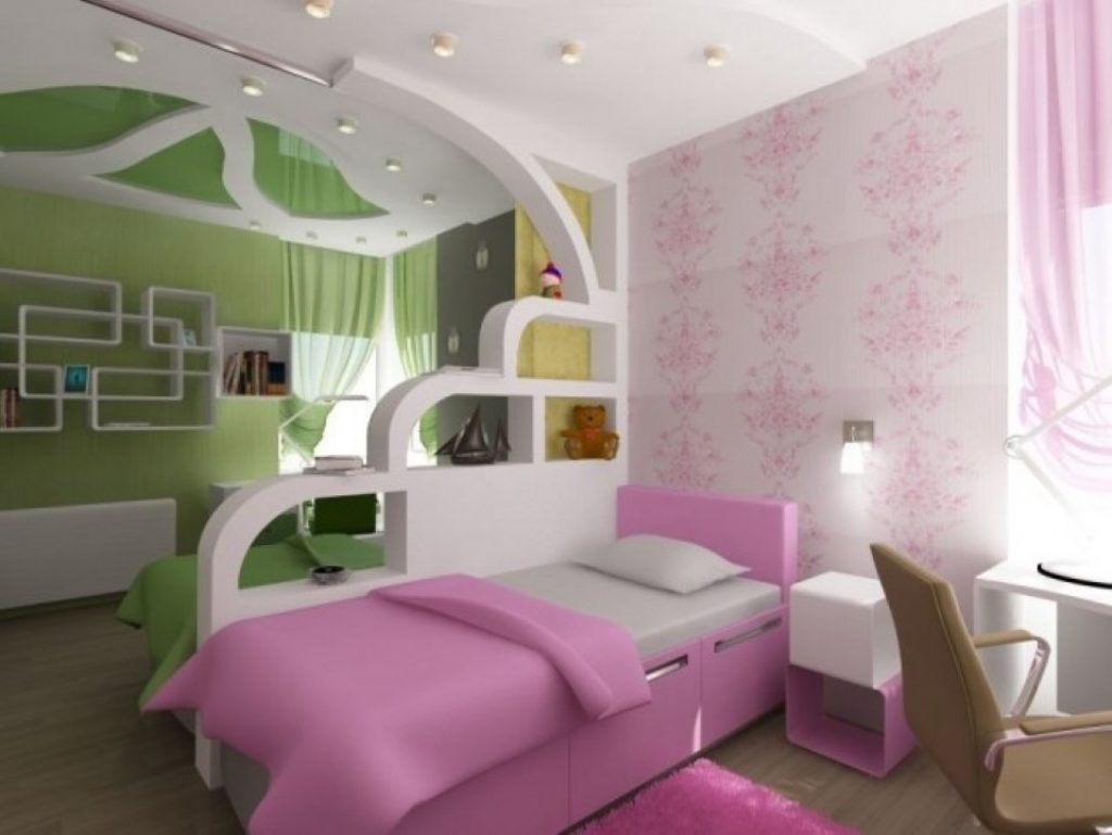 Спальня на двоих детей дизайн 15