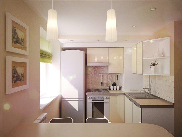 Кухня в хрущевке (фото)