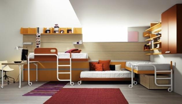 Функциональный дизайн комнаты для двух мальчиков