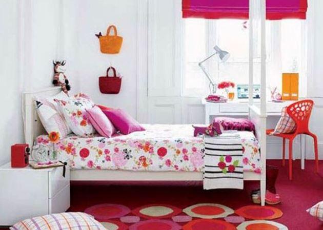 Гармоничный дизайн комнаты для девочки-подростка