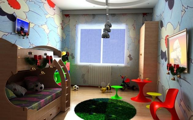 Оформление комнаты для дошкольников