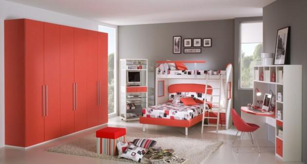 Вариант дизайн для комнаты девочки