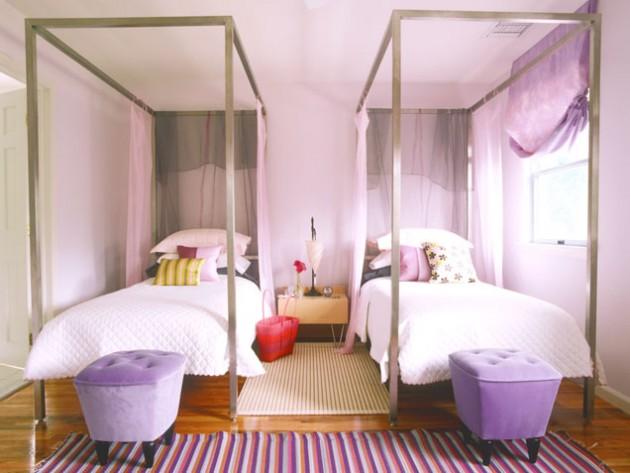 Элегантная комната для двух девочек