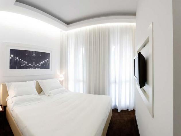 Оформление спальни в светлых тонах