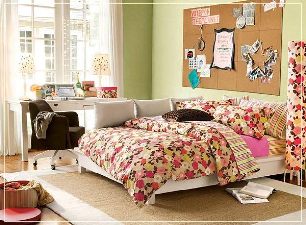 Дизайн подростковой комнаты для девочки