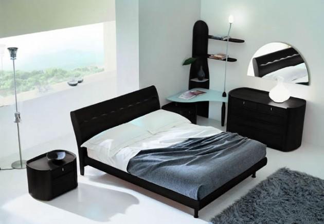 Вариант мебели для маленькой спальни