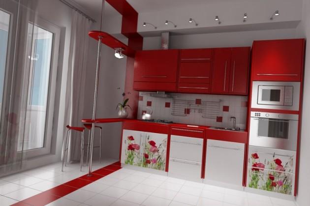 Перепланировка кухни и балкона