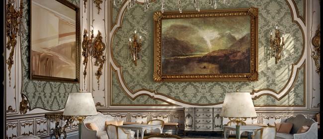 Создаем роскошный интерьер в стиле рококо
