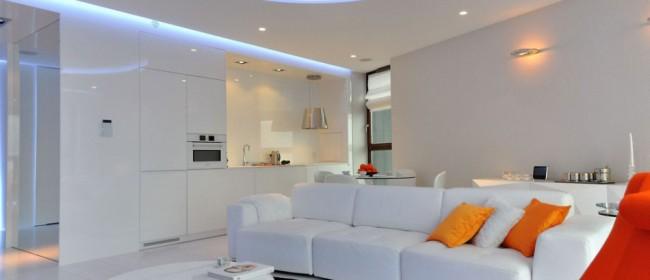 Оформление дома в стиле модернизм