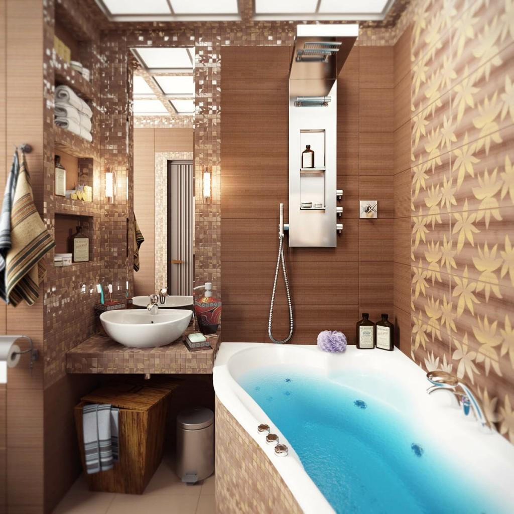 Идеи для интерьера ванной комнаты фото
