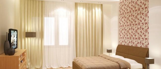 Комбинирование обоев в спальне: тенденции, варианты, советы профессионалов