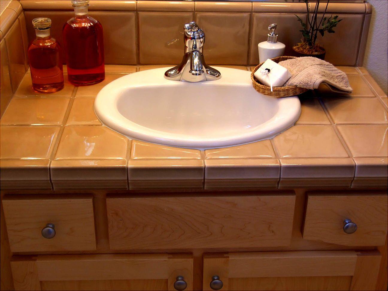 Столешница под раковина в ванную своими руками7