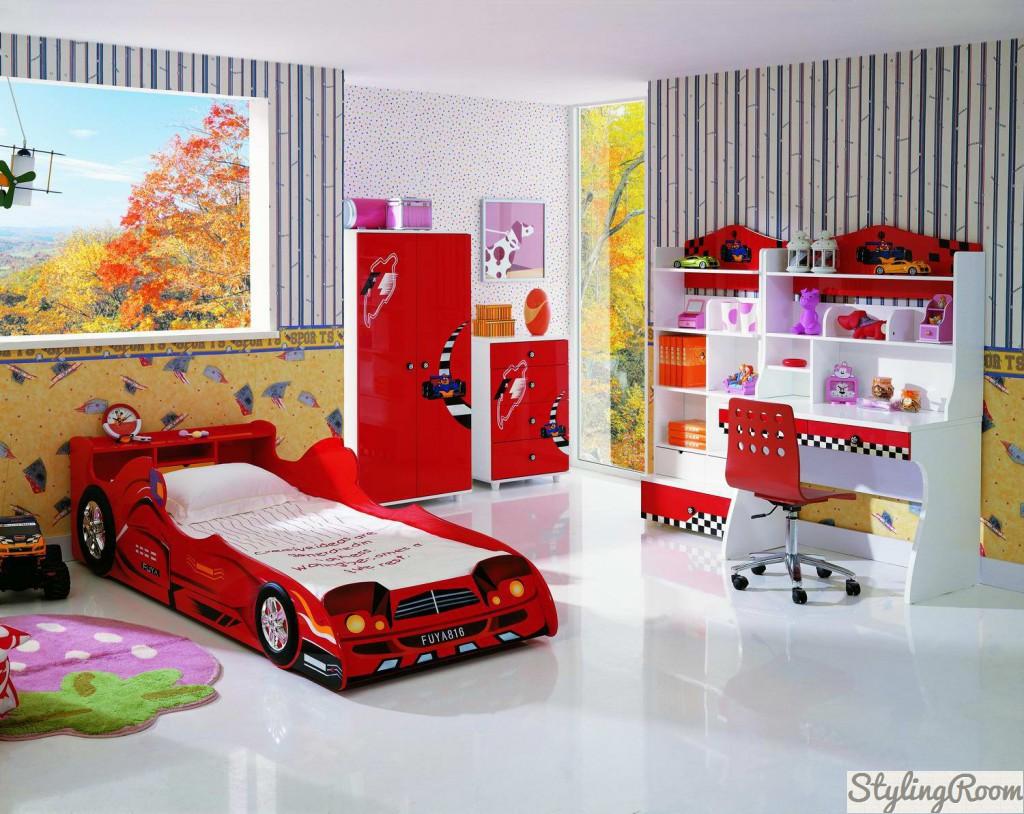 Выбирая мебель для комнаты мальчика, помните, что это формирует вкусы и предпочтения малыша