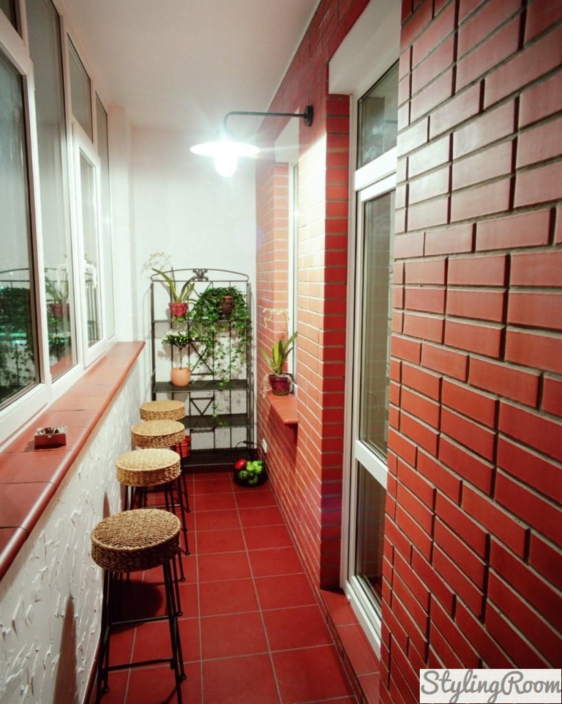 Идеи дизайна лоджии в современной квартире, фото.